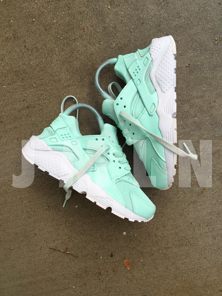 official photos 04886 8f739 MINT HUARACHE CUSTOM. MINT HUARACHE CUSTOM Huaraches Shoes, Cute Sneakers, Sneakers  Nike ...