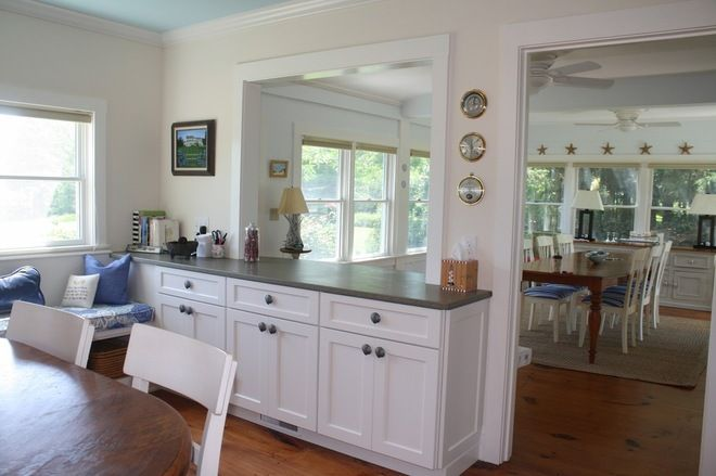Dining Room To Kitchen Transition Love Traditional By Encore Construction