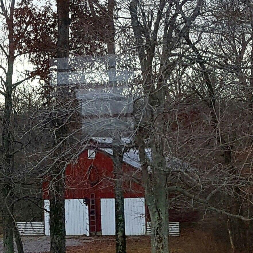 The reception barn at Battle Creek Farm.