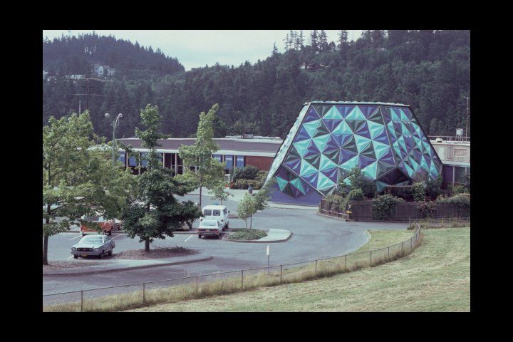 A Picture Of The Old Omsi Planetarium As I Remember It Back In The
