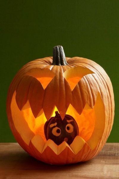 53 Genius Scary Pumpkin Decorating Ideas To Try This Halloween With Images Scary Pumpkin Carving Funny Pumpkin Carvings Cute Pumpkin Carving