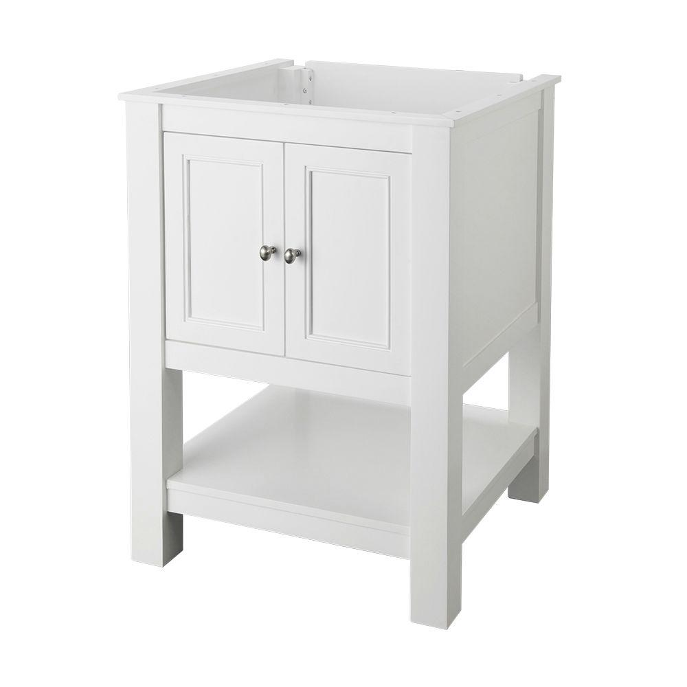 Home Decorators Collection Gazette 24 In W X 21 3 4 In D Bath Vanity Cabinet Only In White Gawa2422 The Home Depot Vanity Cabinet Granite Vanity Tops Home Decorators Collection
