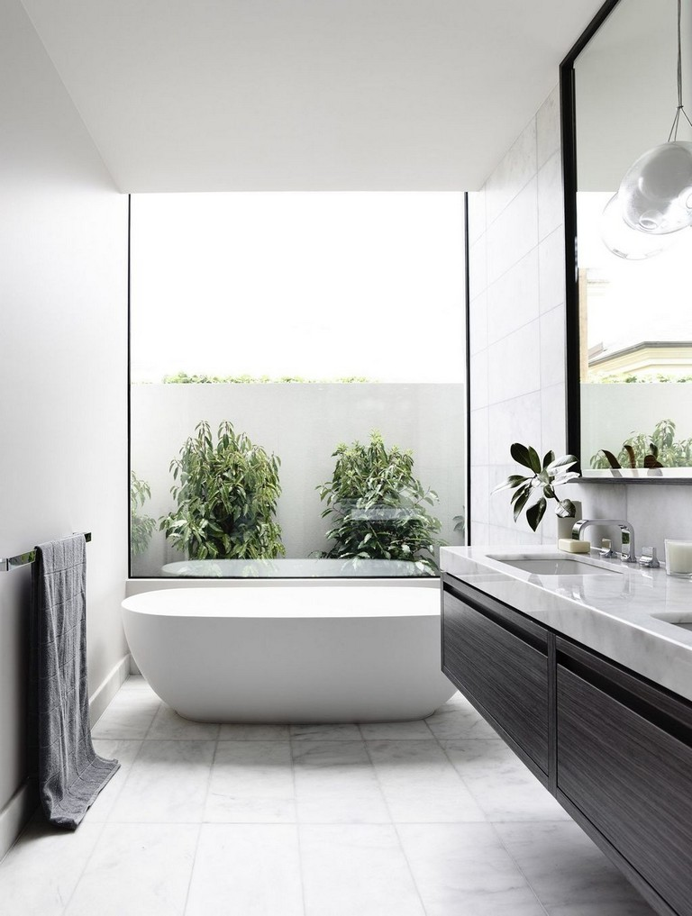 40 Stunning Contemporary Bathroom Design Ideas Bathroom Design