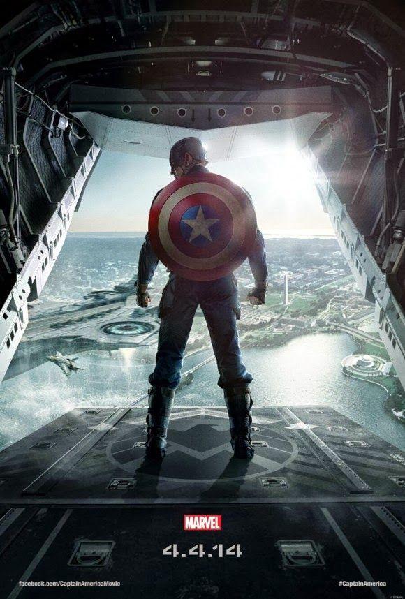 Pôster Capitão América 2 – O Soldado Invernal chegou ~ SuperVault