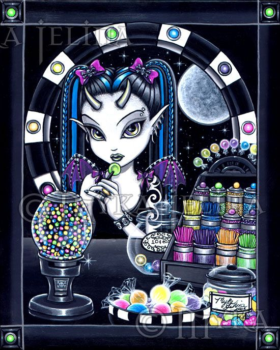 gothic candy store fairy