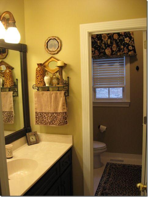 pretty framing a bathroom. Bath Framing those Boring Mirrors  Bathroom mirrors Black cabinet and