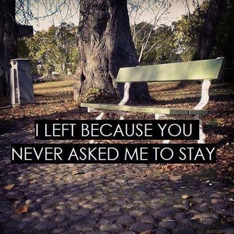 You didn't...