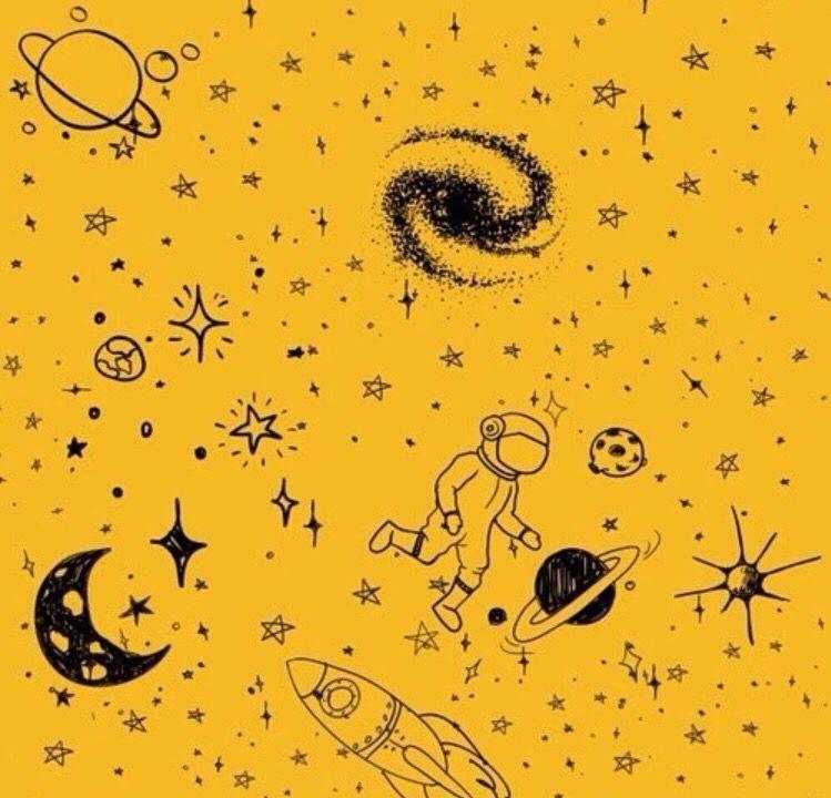 I love doodles Yellow aesthetic, Hufflepuff aesthetic