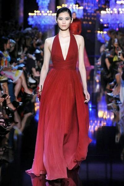 Autumn winter 2014 2015 elie saab in Paris