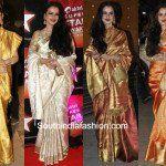 7 of Rekha's kanjeevaram appearances we loved!