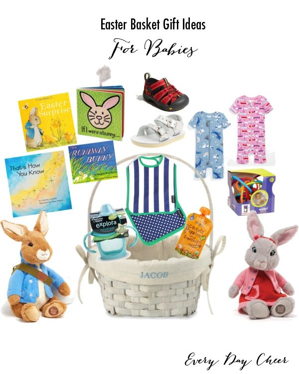 Cool easter basket gift ideas for babies personalized gift ideas cool easter basket gift ideas for babies negle Gallery
