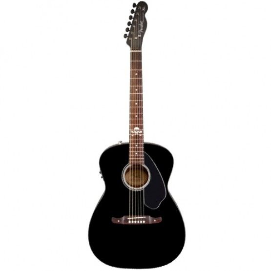Fender Avril Lavigne Newporter Acoustic Guitar Black