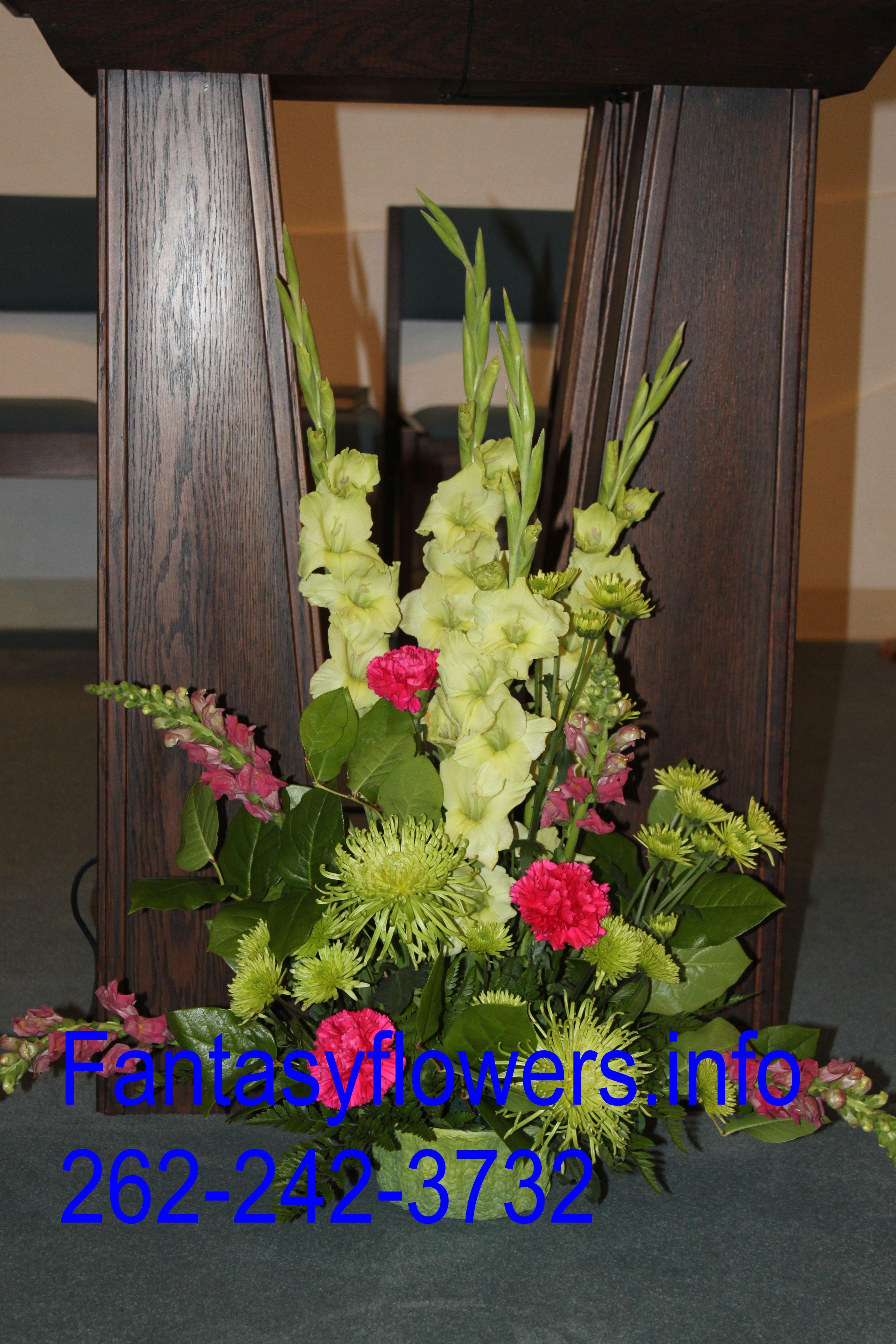 Tradtional altar arrangement altar flower arrangements