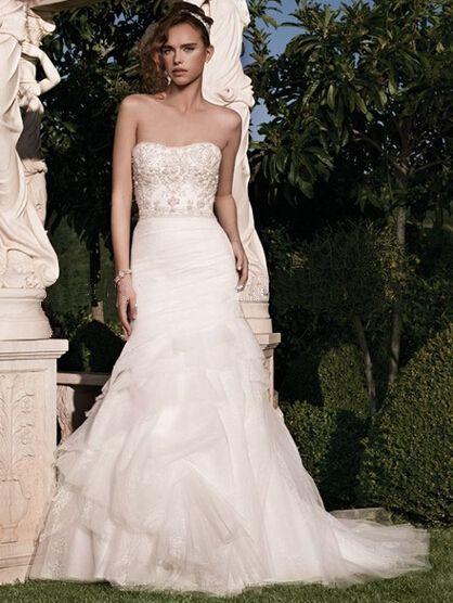 Directsale Beautiful Beadwork And A Dramatic Trumpet Silhouette Truly Extraordinary Alibaba China A-Line Wedding Dress Free Measurement