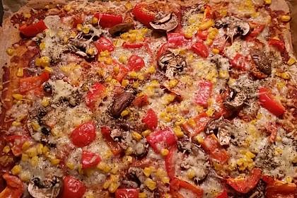Dinkel - Pizzateig #pizzateigmittrockenhefe
