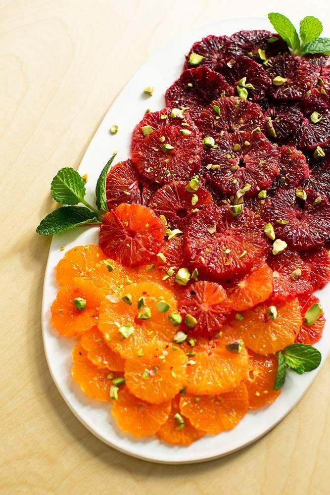 blood orange ombre salad