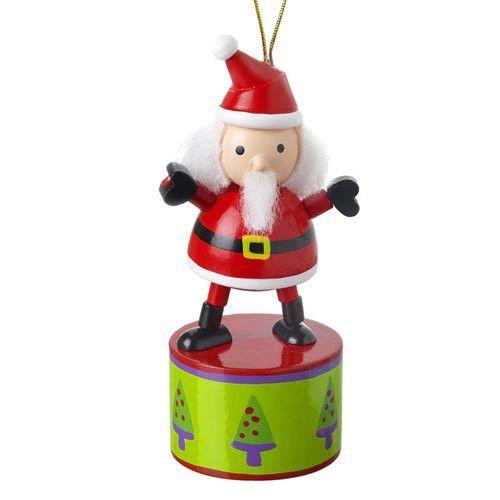 Santa Push Up Toy by Orange Tree Toys