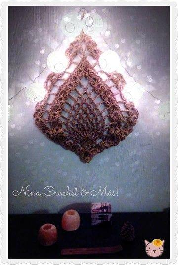 Piña crochet en yute