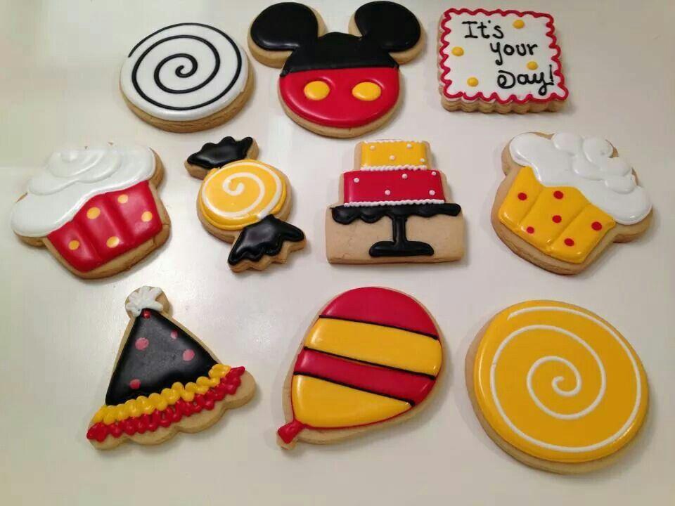 Carousel Cookies Mancera:  Mickey Mouse birthday
