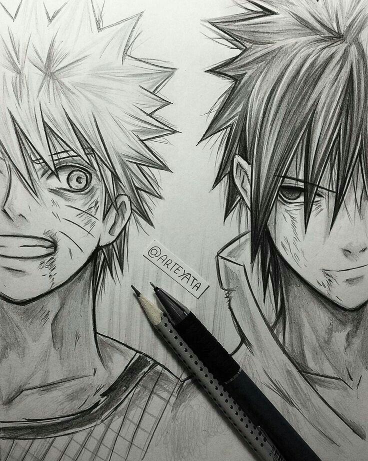 Le meilleur manga ever dessin manga manga anime - Dessin naruto manga ...