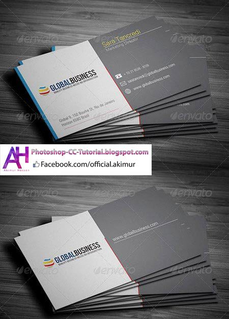 corporate business card 24 photoshop psd print dimensions 35x2 354 - Business Card Dimensions Photoshop