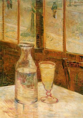 Van Gogh, Still life with absinthe