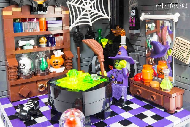My Moc The Witch S Room By Vivien Chu Www Fb Com Sheloveslego