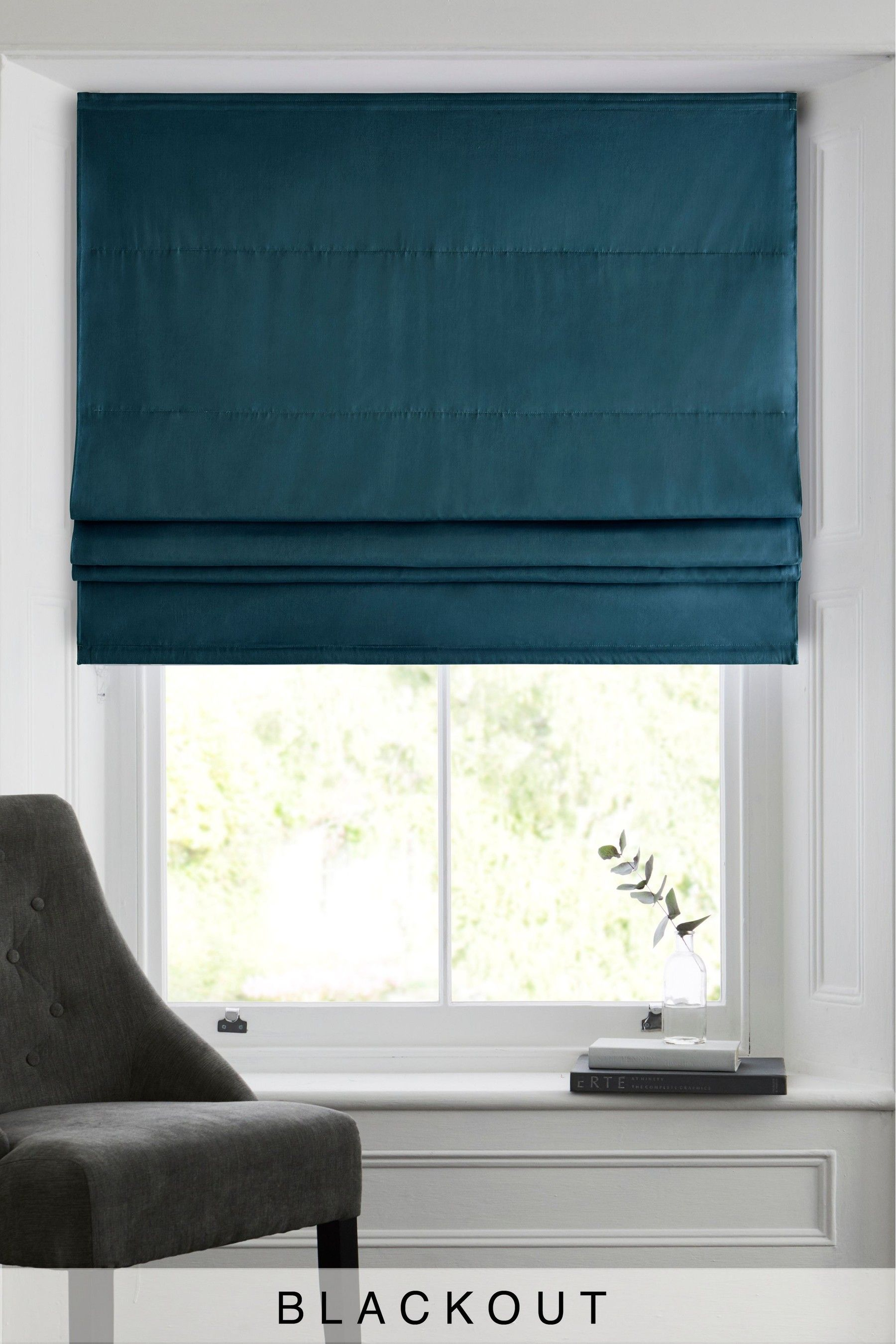 Buy Cotton Studio Roman Blind From The Next Uk Online Shop