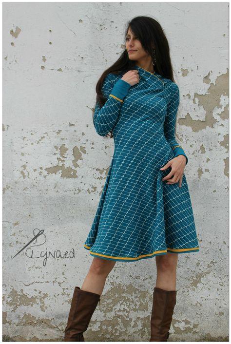 Tutorial: Missy Dress - Lynaed   Kleid nähen, Nähprojekte ...