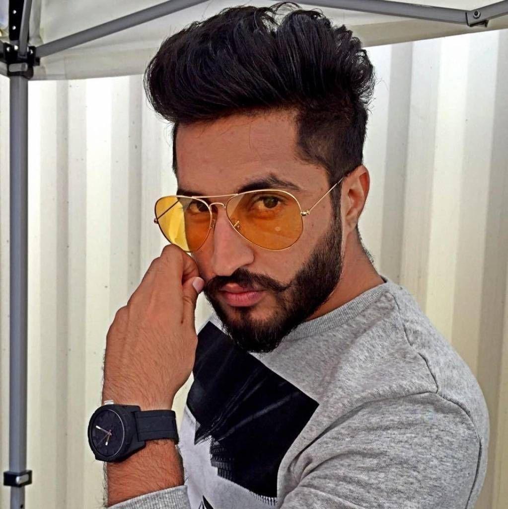 New Hair Style Of Punjabi Singer Jassi Gill Boy Hairstyles Hair Styles Medium Hair Styles