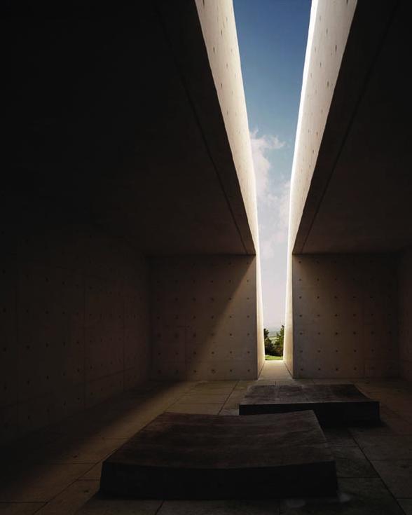 Tadao ando natural light in space spiritual for Archi light