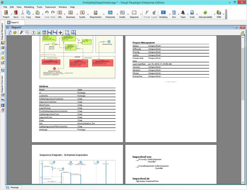 Creating Report With Visual Paradigm Report Designer  WwwVisual
