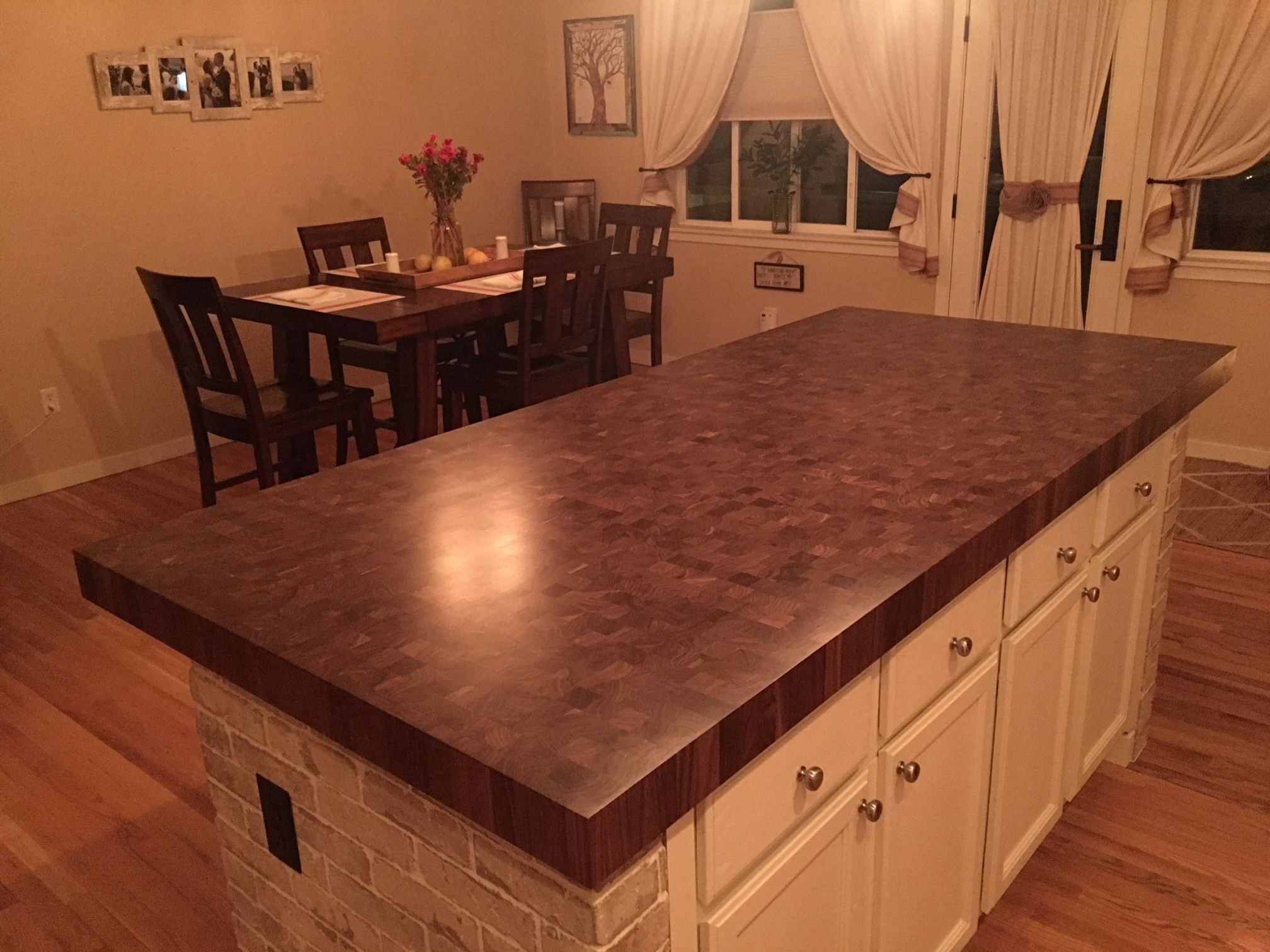 Sample Walnut End Grain Butcher Block Walnut Butcher Block Countertops Countertops Kitchen Island Countertop