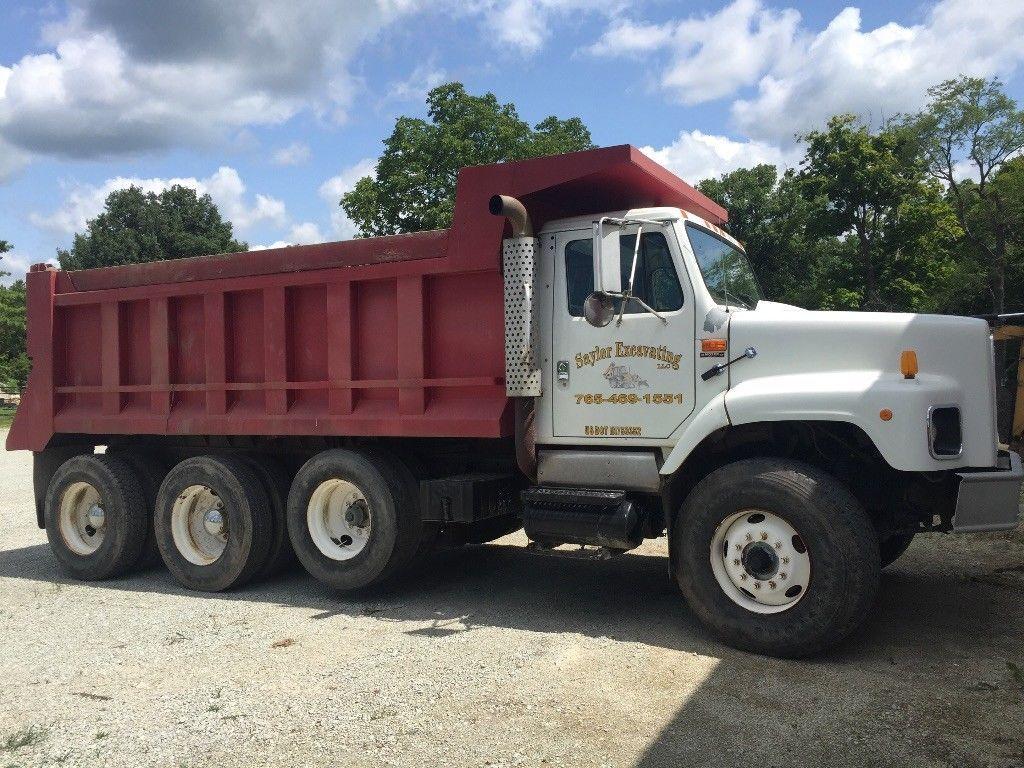 No Issues 1997 International 2674 Tri Axle Dump Truck Trucks Dump Trucks For Sale Trucks For Sale