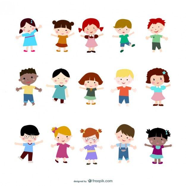Dibujos vectoriales | muñecas | Pinterest | Icono gratis, Vectores ...