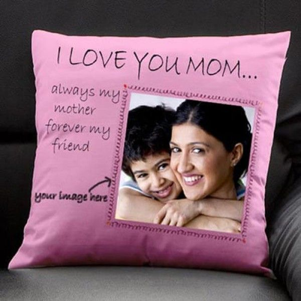 Buy Online Cushion For Mother With Engraved Pictures