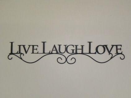 Live Love Laugh Wall Decor Google Search