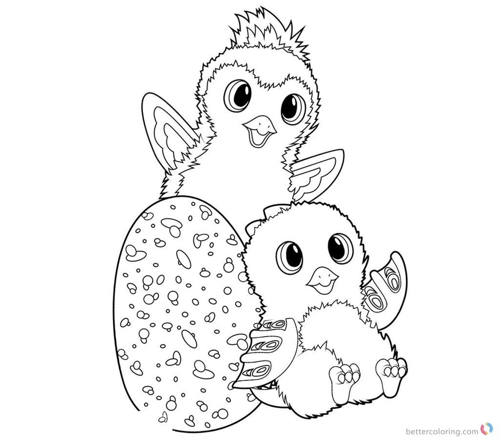 - Hatchimals Coloring Pages Colleggtibles And Penguala (With Images