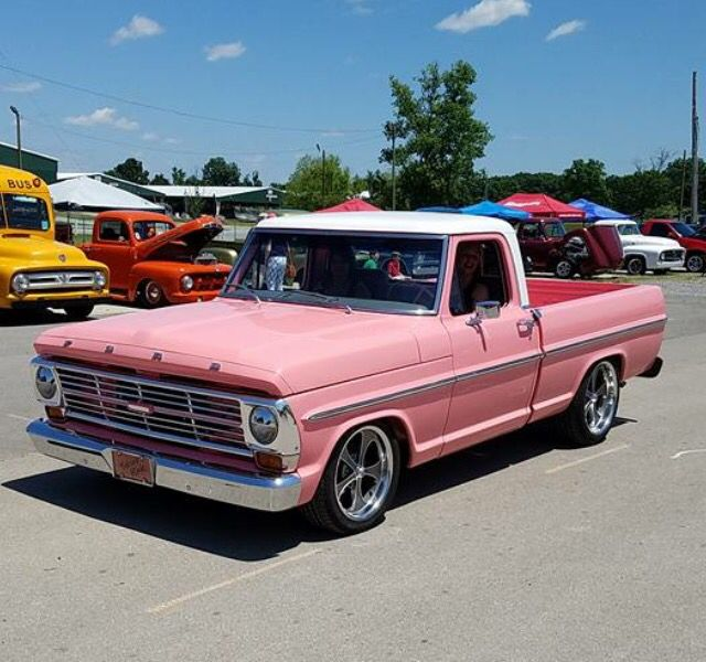 Small Ford Truck: Ford F-100 Tough Enough To Wear Pink