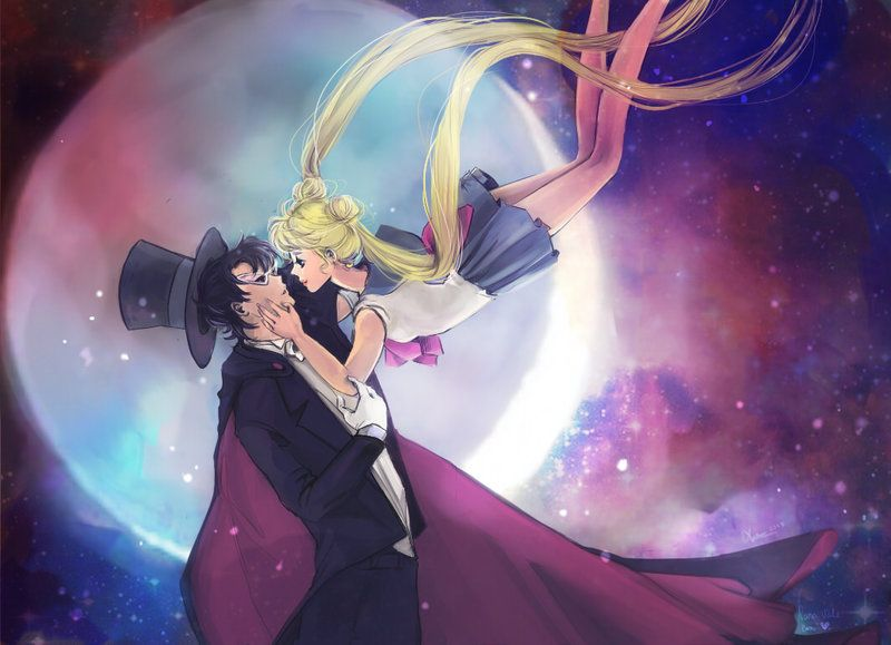 whaaat? sailor moon fanart?? yes, that and proof that I\'m not dead ...