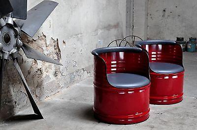 Olfass Hocker Ihrer Sessel Stuhl 200l Fass Wetterfest Design Farben TFulKJ1c3