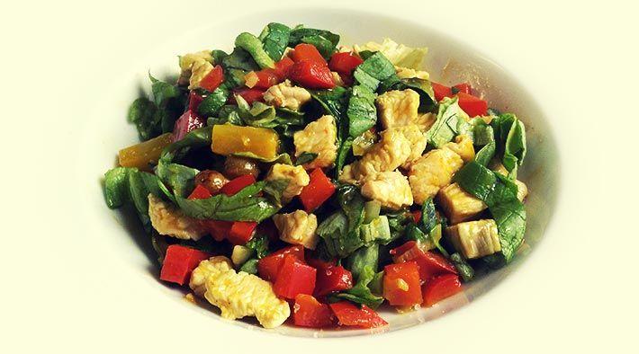 Salat kohlenhydrate