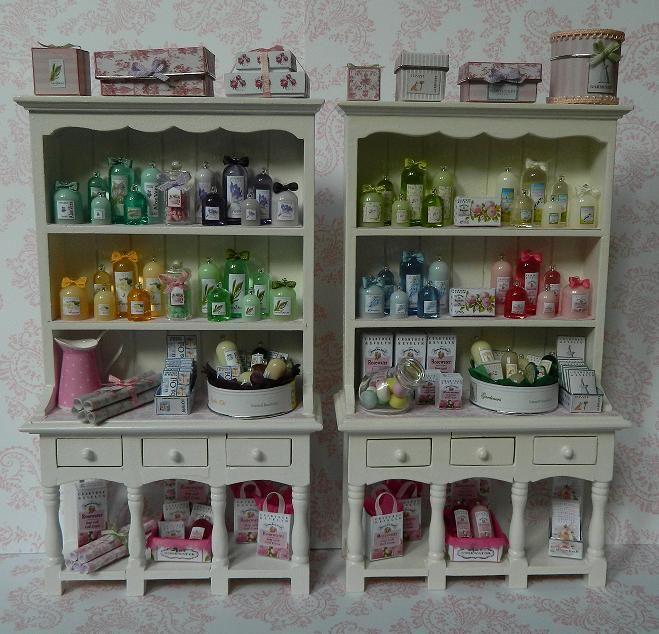 Display Cabinets For My Miniature U0027Crabtree U0026 Evelynu0027 ...
