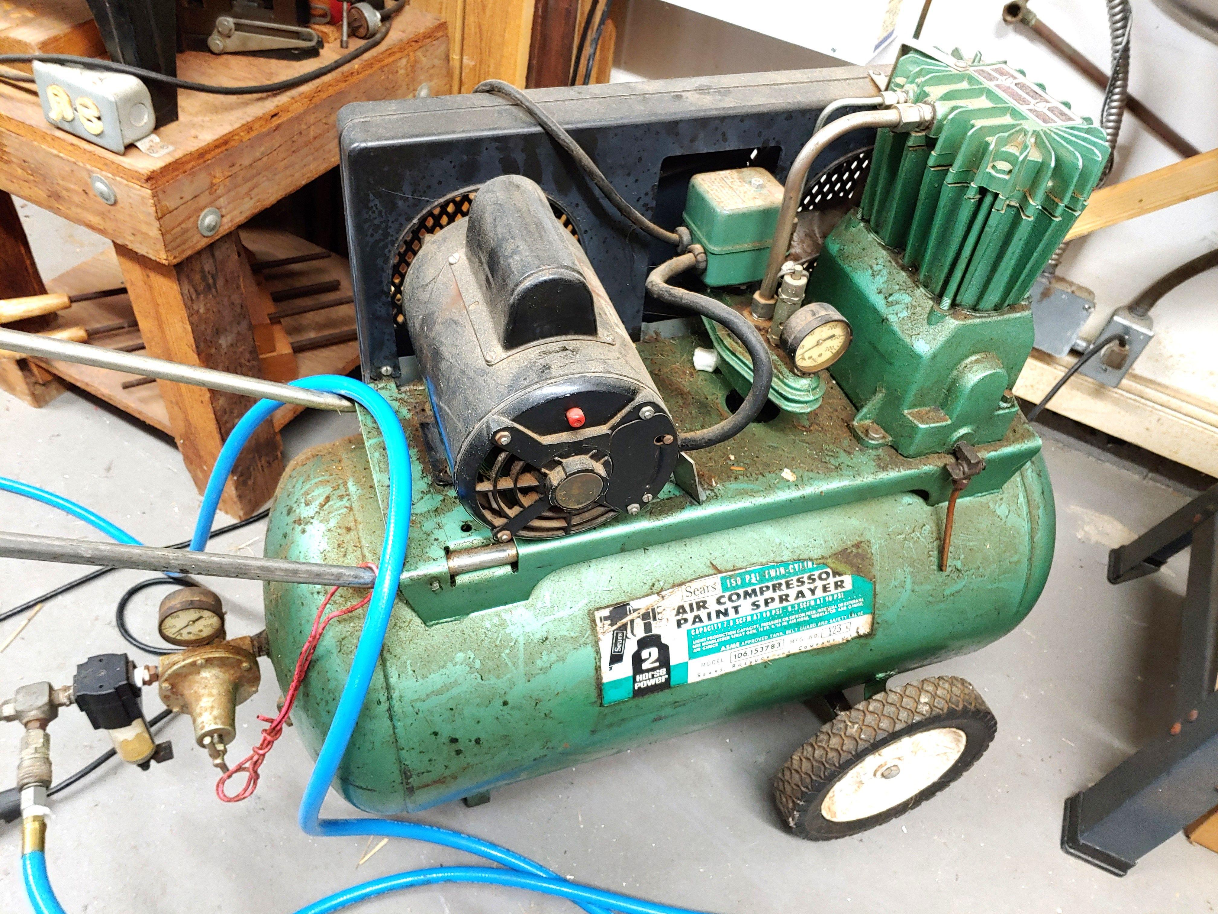 Craftsman 30 GAL Air Compressor Good Condition RESERVE