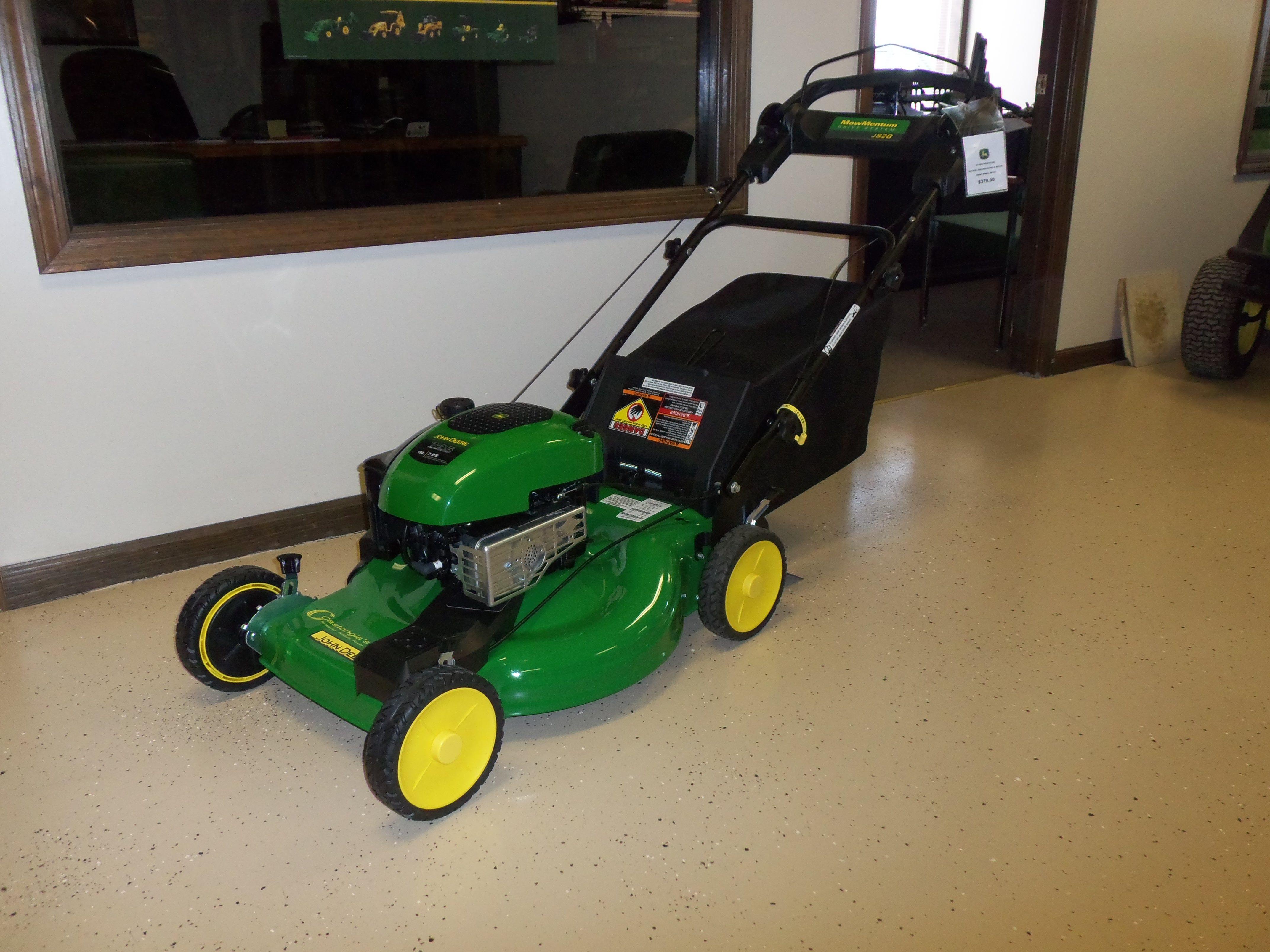 John Deere JS28 push mower