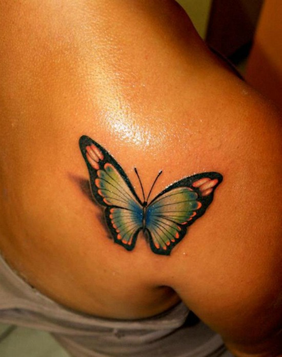 Small and clever butterfly tattoo tattoo tattoos