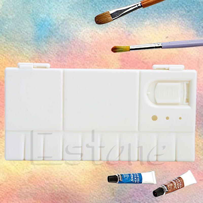 Large Artist Art Oil Plastic Watercolor Palette 25 Grids