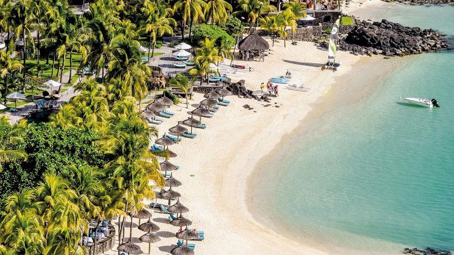 Пляж Royal Palm Beachcomber Luxury на Маврикии