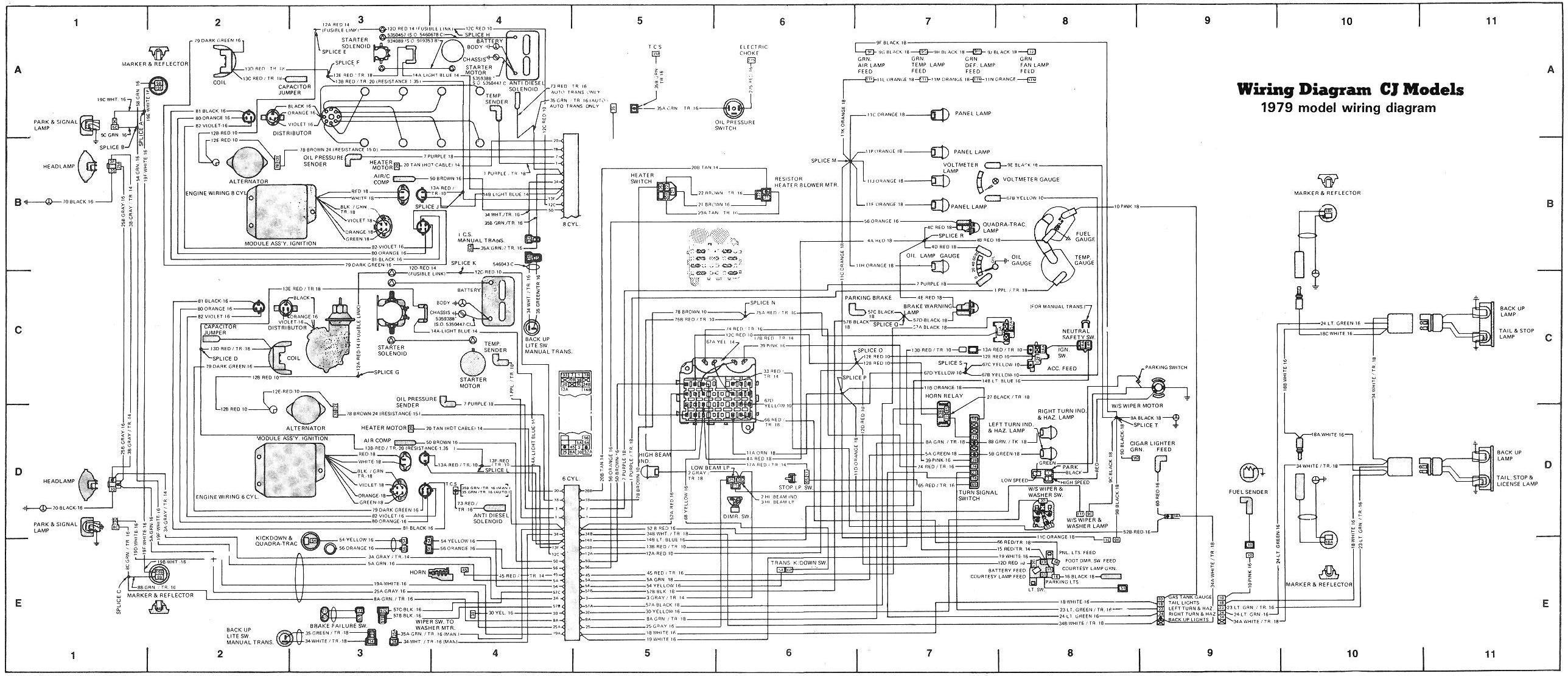 CJ 7 wiring | CJ 7 Renegade | Jeep cj7, Jeep, Jeep wrangler
