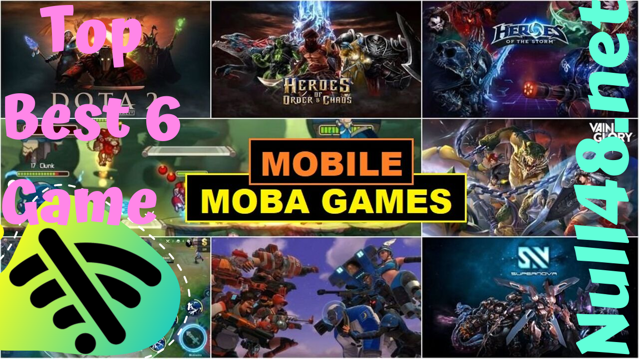 Top 6 Best Moba Games For Android Offline 2020 Download Games Mmorpg Games Mobile Game